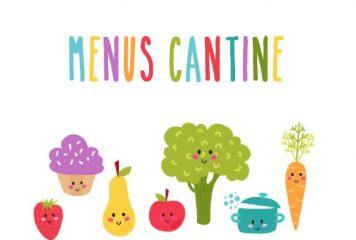 Menus Cantine