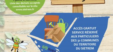 Déchetterie mobile 2019 // SIETREM